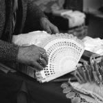 Traditional handcrafted bobbin lace, Galicia CAMARIÑAS CADA Foundation