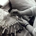 Traditional handcrafted bobbin lace, Camariñas, Galicia CADA Foundation